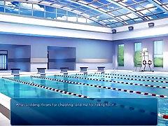 Lets Play Sakura Swim Club Episode 24: Pool Party!