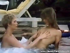 Classic Lesbians Enjoy Pussy Outdoors