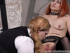 Lesbian play piercing punishment and extreme amateur bdsm of Dirty Mary