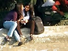 Indian Lesbian kissing in public