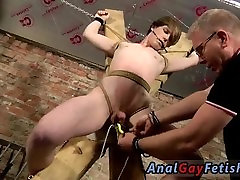Nude gay men giving blowjobs in bondage Another Sensitive Cock Drained