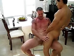 muscle daddy spank and fuck twink