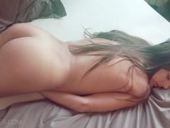 Cute brunette Dominika in In The Morning Light - mc-nudes.com