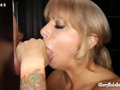 Gloryhole Secrets big tits and lots of dicks