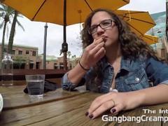 Gangbang Creampie Teen gets gangbanged