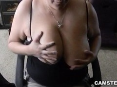 Busty Asian Sucks Dick and Gets her Big Tits Fucked