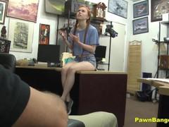Petite Redhead Teen Dolly Little Slammed By A Huge Dick
