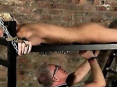 Coffee boy gets a blowjob gay Draining A Slave Boys Cock