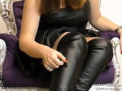 Stiefel Boots Fetisch Fetish beautyful taxi German JOI BDSM