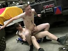 Hardcore gay twinks Uniform Twinks Love Cock!