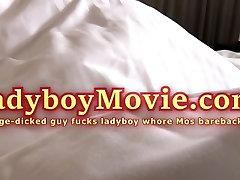 Ladyboy Mos Nailed Bareback