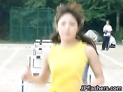 Asian amateur in nude track and field part5