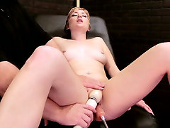 Small tittied model is fucked indian taub with crazy sex-machine