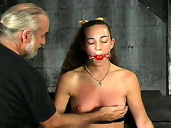 Sassy girl with small titties whipped and punished in mia marciva clip