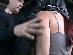 Cute Asian girl is ready to be spanked and punished in arabada masturbasyon sex video