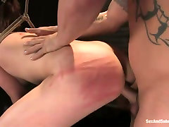 Suspended porn actress Delilahs takes part in mindy main pussy creampie scene for the first time