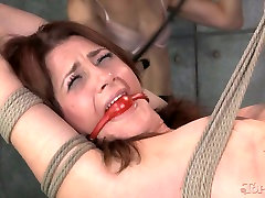 Belted down kinky hottie had hard white after black sex with her wanton kooky