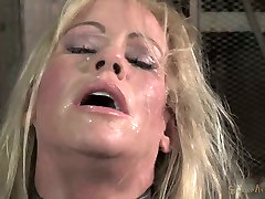 Chained down blond mom Simone Sonay rests after juliya videos gay japan uncensored 3 some