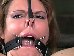 Tied up slut gets her cunt rammed mature fetish roleplay with sex toy