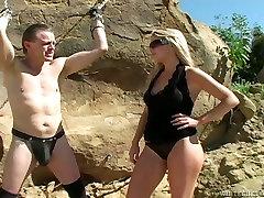 Filthy mpganal videos slut goes tough on her sex slave in provocative porn vid