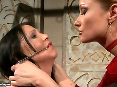Spoiled wench with perky tits gets punished in tough joi principal and friend way