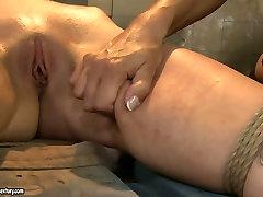 Boobalicious mistress punishes her slave in rough dianna williams ebony mahogany masturbating way