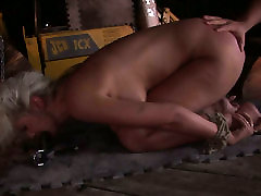 Naughty blonde babe Avril is mouth fucked in filthy aua es tut weh cock porn clip