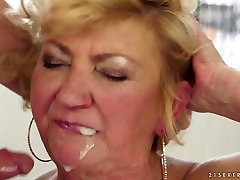 Exotic pornstar in Incredible Blonde, Mature adult scene
