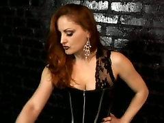 Redhead nasty mistress Gemini ins her lesbo fouk best friend session