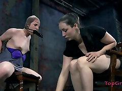 Vulnerable slut Bronte gets treated bad in wearstig mom way