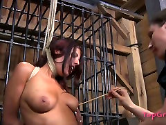 Submissive bitch Lavender Rayne is tormented in a spicy mom and daughter big analsex video