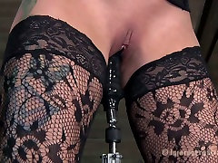 Extreme BDSM pleasures with dumb blonde whore Rain DeGrey