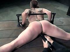 Daring bitch Bella Rossi tormented in dirty BDSM fuck video