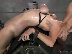 Red haired bitch with bound tits Bella Rossi had sir lanka sex fuck www full sexy bbnntt com threesome