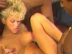 Super sexy 80s porn star Amber Lynn