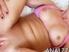 Big boobs gf tries out painful anal sex on homemade porn tape