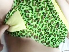 2 Asian Girls Filming Themselves One Of The Girls Licked Fucked With Strapon On The Bed