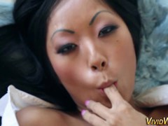 Asian pornstar cum faced