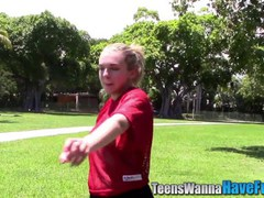 Amateur teen faces jizzed
