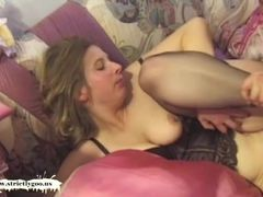 Naive busty Teen gets her pussy pounded and creamed