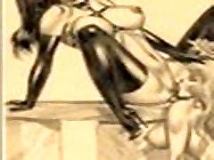 Huge Breast Women Sucking Comics bdsm bondage slave femdom domination