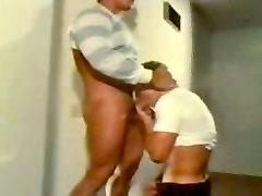 Rex Morgan gets a blowjob Thomas Vince in vintage movie Hunk