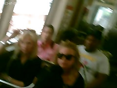 Blonde I Upskirted on the Train