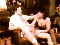 Old timer classic with cock sucking and pussy fucking at the bar