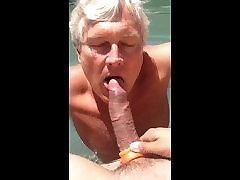 Sucking a beautiful latino twink cock