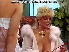 Busty mature classic blonde star and her lovely ladies in lingerie