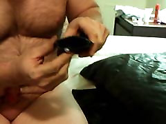 Another artificial whore leather fuck in hotel room!