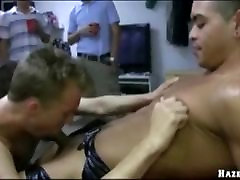 Straight college boy anal fucked