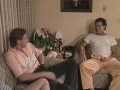 Dana Lynn and two dicks in a vintage flick
