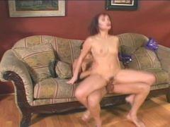 Horny Asian slut shagging